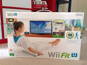 Nintendo Brand New Wii Fit U Bundle Game+Fit Mete+Balance Board Hornsby Hornsby Area Preview