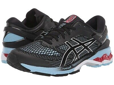 ASICS Women's Gel-Kayano 26 in Black/ Heritage Blue Sz 7-9 New w/ Box