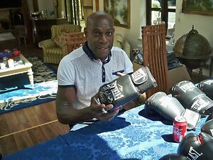 Frank Bruno signed boxing glove direct from management £43 free postage