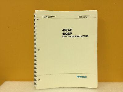 Tektronix 070-5564-01 492ap 492 Bp Spectrum Analyzers Programmers Manual