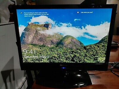 ViewSonic N1930W-2M VS12115-2M HDMI LCD TV Black