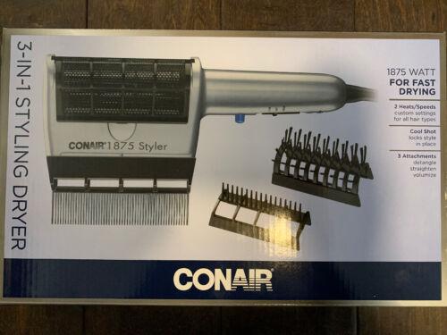 Conair 3 in 1 Hair Dryer Brush Styling System -- 1 each.