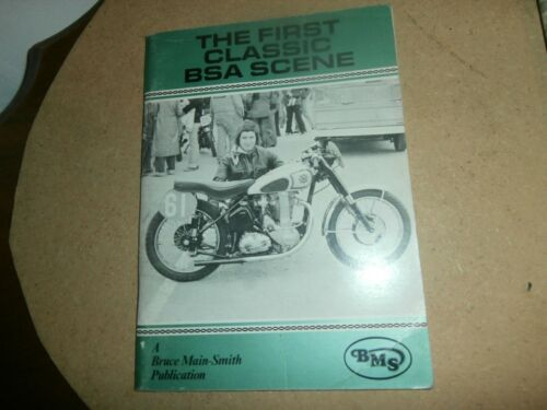 The First Classic BSA Scene 1980  Motorcycle Book Bruce Main Smith