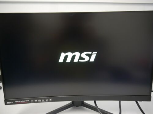 MSI 24-inch Full HD FreeSync Curved LED Wide Screen Gaming Monitor MAG24C 144hz