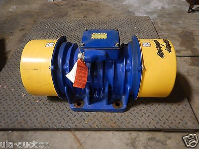 NEW Houston Visam SPV 23.5 D-00 Electric Vibrator 8439 CF Lbs. 220-460 V 3.1 HP
