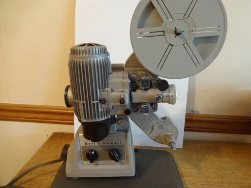 Bell and Howell model 173 ,  16mm movie projector