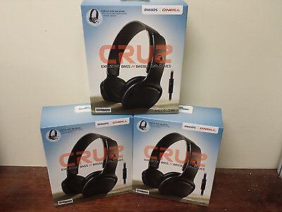 Lot Of 10 Philips SHO3305ZERO/28 O'Neill Cruz Headband Headphones