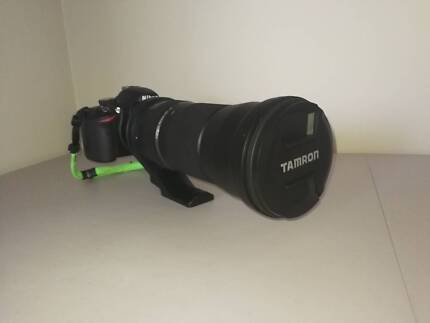 Nikon SP 150-600mm on a DSLR upto (250-900mm) Lens for Tamron