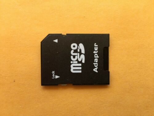 Micro SD to SD HC SDHC Memory Card Adapter