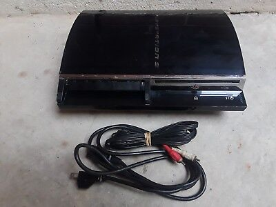 Sony PlayStation 3 PS3 Fat CECHA01 Backwards Compatible Console 60GB
