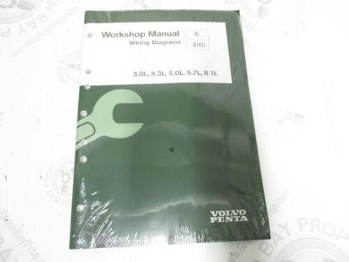 7749124 Volvo Penta Service Workshop Manual Wiring Diagrams 2008