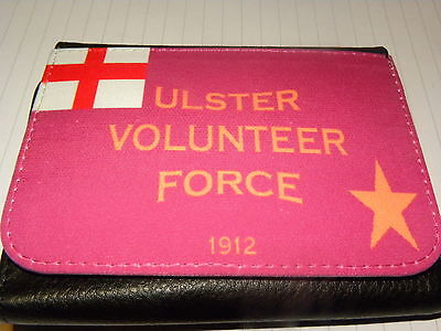 ULSTER VOLUNTEER FORCE SOMME ULSTER LOYALIST EXCLUSIVE TRI FOLD WALLET