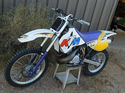 '95 KTM MC550 MXC 550 Vintage MX MotoCross Enduro SUPER LOW MILES Monster 550cc