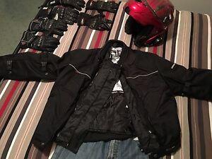 Biker clothing + helmet Kellyville Ridge Blacktown Area Preview