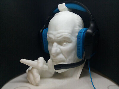 Sigmund Freud Headphone Stand! Headset Holder Rack, Famous Psychologist Hanger for sale  Shipping to India