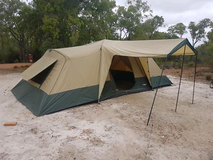 Fast frame tent oztrail & Oztrail Seaview 9+3 Tent | Camping u0026 Hiking | Gumtree Australia ...
