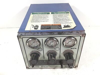 Nordson Versa-spray Powder Coating System Unit 159637a For Parts Or Repair