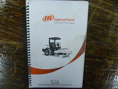 Ingersoll Rand SD70D Vibratory Compactor Service Repair Manual