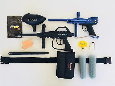 e792bd433b25 Paintball Marker Lot Tach 5 Recon   Piranha PMI with Extras - Read  Description