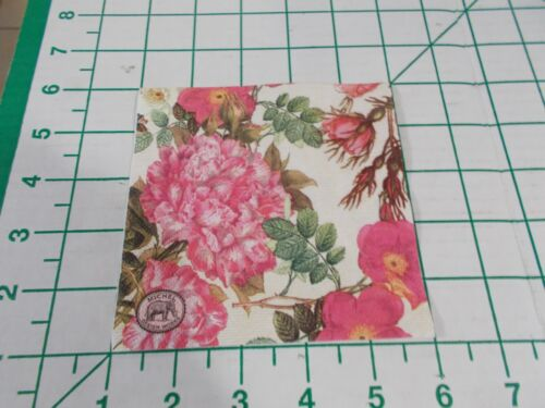 """Two Decorative Cocktail Napkins for Decoupage """"Rose Garden"""""""