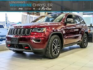 2017 Jeep Grand Cherokee Trailhawk/5.7 Hemi/Navigation/Pano Sunr