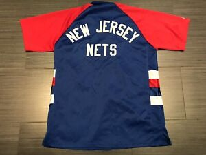 03733a4d2dcc Majestic New Jersey Nets Basketball warm up Shooting Shirt