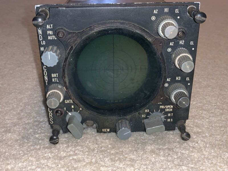 Vintage Military Fighter Jet Radar Warning Detector - VERY RARE