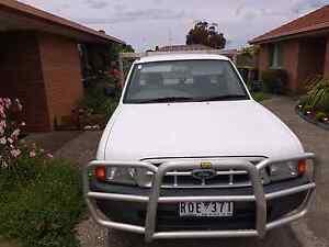 2001 Ford Courier Ute Ballarat Central Ballarat City Preview