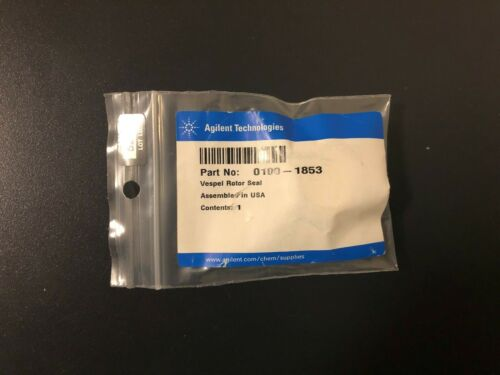 NEW Agilent 0100-1853 Rotor Seal Vespel 400 bar 2 Grooves for 1100 1200 1260 LC
