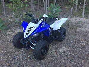 2013 Yamaha Raptor 90 Cornubia Logan Area Preview
