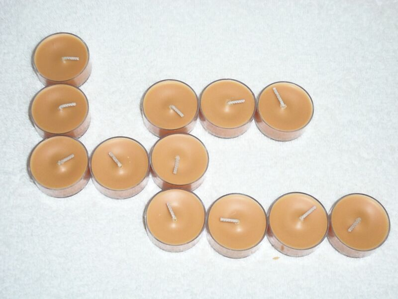 Partylite Caramel Pear Tealights --  RETIRED
