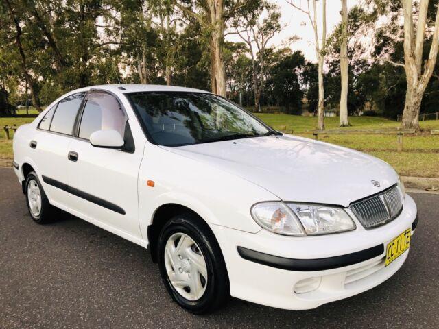 2001 Nissan Pulsar St Sedan Auto Logbook Service History