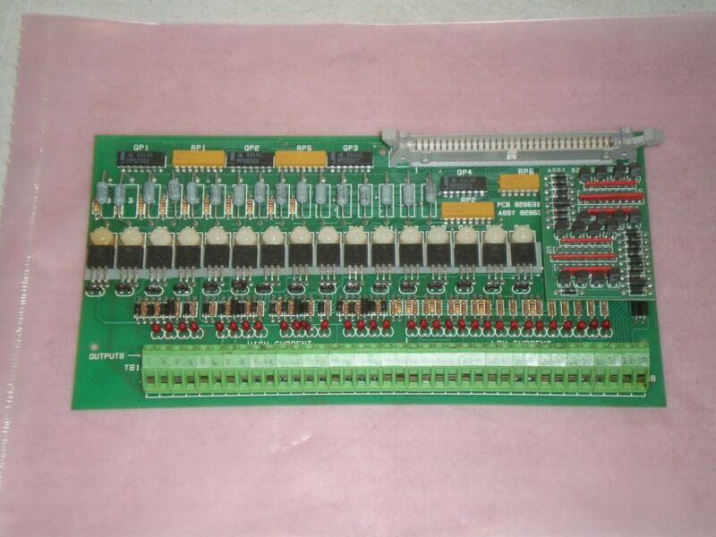 Cincinnati Incorporated 826682 Rev D Circuit Board PCB Free Shipping!
