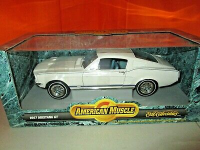 Ertl American Muscle 1967 Ford Mustang GT 1:18 Diecast in Box