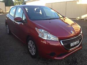 2012 Peugeot 208 Hatchback Active Auto Tamworth Tamworth City Preview
