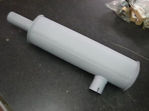 Wisconsin Engine Muffler WD72 style fits VH4D, W4-1770, TJD, others    READ AD!