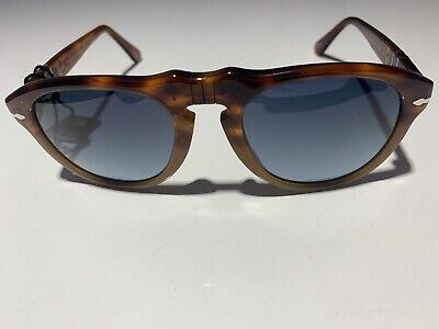 Persol Sunglasses PO0649 1025S3 Resina E Sale Blue Polarized Gradient Lens (Persol Glasses Sale)