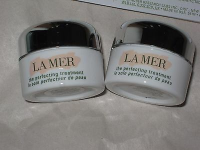 La Mer 2 The Perfecting Treatment Deluxe Sample 0.1oz / 3ml New  FRESH LOT 2