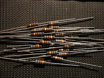 25pcs Allen Bradley 680 Ohm-12w-5 Rc20gf681j 12watt Carbon Comp. Resistor