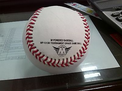 CLOSEOUT 10 DOZEN 100% Leather Baseball cosmetic blem with 1st quality CORE ROLB