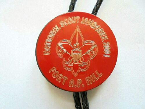 2001 National Boy Scout Jamboree Fort A.P. Hill Bolo Tie