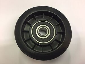 EFCO EF102C MANUAL RIDEON MOWER DRIVE BELT IDLER PULLEY 125601554 *GENUINE PART*