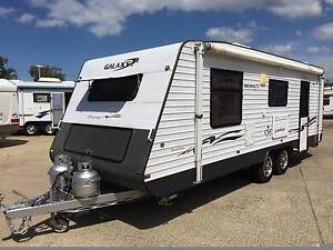 2011 21FT GALAXY ODYSSEY DUAL AXLE SHOWER TOILET CARAVAN Clontarf Redcliffe Area Preview