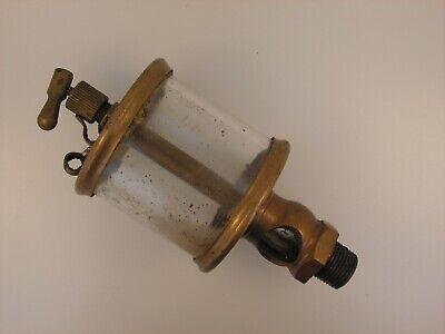 Old Lunkenheimer No. 3 Fig 1300 Sentinel Brass Oiler Hit Miss Gas Engine Antique