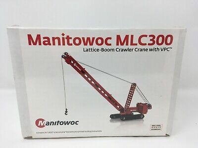 Brickmania Manitowoc MLC300 Lattice-Boom Crawler Crane with VPC Lego