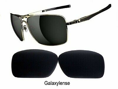 Galaxy Replacement Lens For Oakley Plaintiff Squared Sunglasses Black (Plaintiff Squared Oakley)