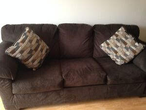 Couch and love seat living room set