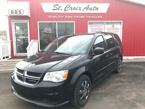 2014 Dodge Grand Caravan SXT full stow & go DVD