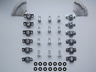 DZUS FAIRING & PANEL FASTENERS SLOTTED HEAD 15MM STUD LENGTH 12 PACK
