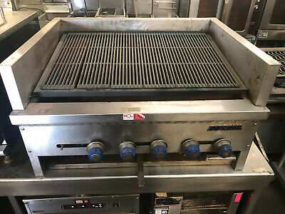 Imperial Iabr-36 - Counter Top Steakhouse Charbroiler 6 Burners